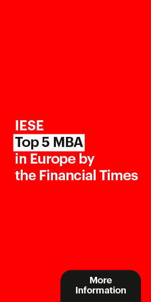 IESE Top 5 MBA in Europe by the Financial Times