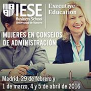 Mujeres en consejos de administración