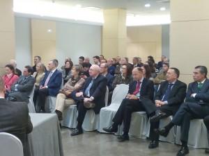 Algunos de los participantes a la sesión del Foro Alavés