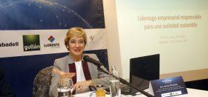 Nuria Chinchilla, ponente del Forum Económico de El Norte de Castilla. Ramón Gómez
