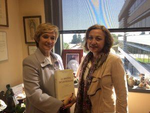 Con Rosario Ruiz en mi despacho
