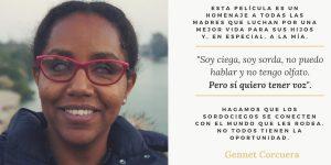"""""""Me llamo Gennet"""", preciosa historia de superación e integración"""